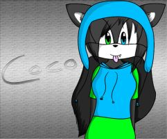 Coco the Wolf by coco-the-personer