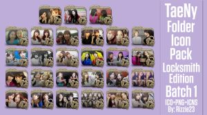 TaeNy Folder Icon Pack 1 (Locksmith Edition) by Rizzie23