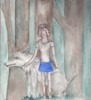 Princess Mononoke by themadmuggle