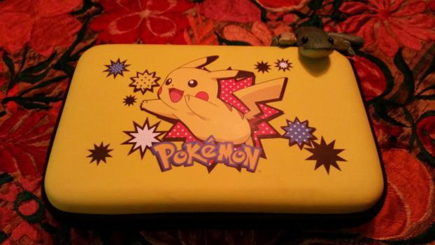 pikachu 3DS case by ROOKIE745