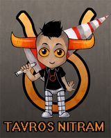 Homestuck: Tavros Nitram by colorchaos