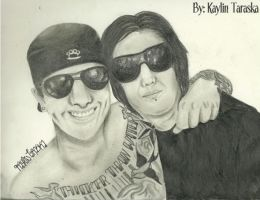 M Shadows and The Rev by kaylinvengeance