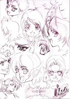 My characters by rosan-mate
