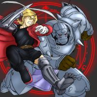 Makotron's FMA colored by Transformergirl