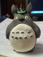 clay totoro by jamescolegrade