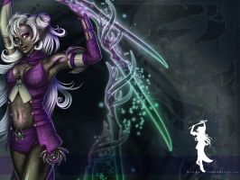 Kyn'Ra Wallpaper by Cyzra
