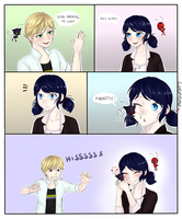 ML: Marinette and Plagg Pt.1 by LoloHime