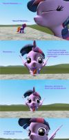 Giantess Twilight kissed FireJade by SkyrimFireDragon