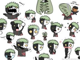 The many faces of Zetsu by saurien
