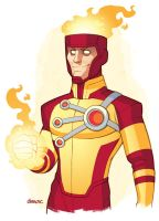 Firestorm: The Nuclear Man by D-MAC