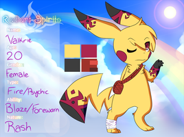 .:Radiant-Spirits:. Valkrie - Fire/Psychic by Reptileon