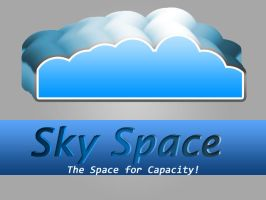 Sky Space Logo by rameexgfx