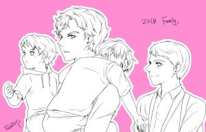 221B Family :D by RedCAT18