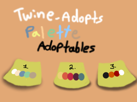 ~Fox Palette Adoptables~ ALL OPEN by Twine-Adopts