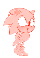 Classic sonic by SlerpSlapp