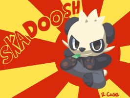 Pancham used Skadoosh