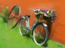 la Vieille Bicyclette by fmr0