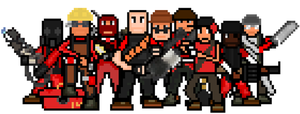 team fortress 2D by qatarz