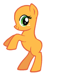 Applejack BB template by Durpy