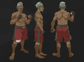 final fight GEJ vs BUHARI concept design BUHARI by yinfaowei