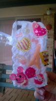 cute wippiped cream DIY case ^_^ by kaitlynb7