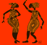 african dance 2 by zenbolic-vision