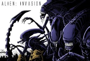 Aliens: Invasion by PriemRyeest