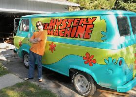 Mysteries Hippies and Vans by EndOfGreatness