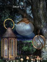 Elven Lanterns 2 by oldhippieart