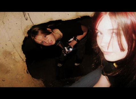 me and my photographer by pyro-vamp-freak