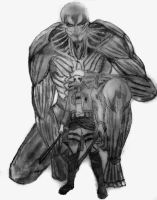 The Armored Titan by Billy-Cash