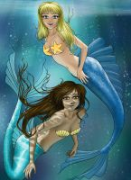 Secret Santa 2009: Mermaids by Angel-Creations