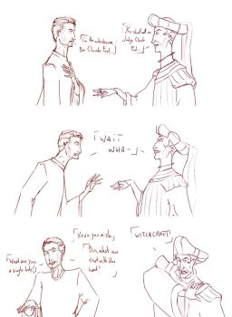 I'm Claude Frollo by The-Strangeronthemoo
