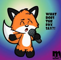 What Does The Fox Say?! by Cartcoon