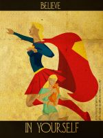 Believe - Supergirl by KerrithJohnson