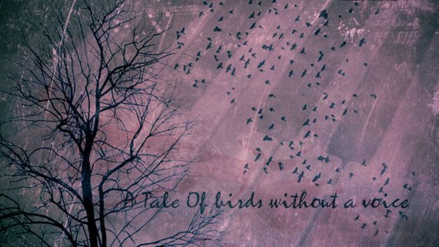 A Tale Of Birds Without A Voice wallpaper by silentnerd