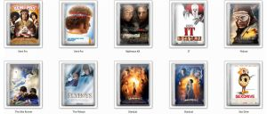 DVD Icons Pack 2 by sammy1991