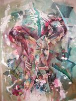 Sewn Together Painting in PROG by lilbit075