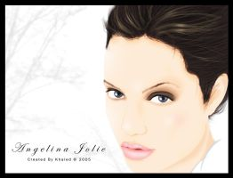Angelina Jolie by Painkiller82