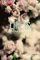 Life is beautiful - PSD by Ihavethedreamersdise