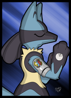 Lucario by ragman2931