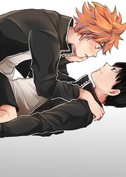 Collab : KageHina by Obily