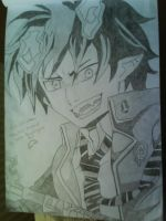 Rin Okumura: The blue exorcist by Sakurarokujo