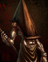 Pyramid Head Silent Hill by ChrisOzFulton