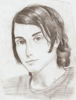 A portrait of Frank Iero by BadBloodKilljoy