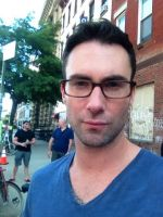 Adam Levine with glasses. by MJandGhostAdventures