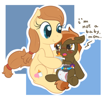 Who's Mama's Little Baby? by Hourglass-Sands