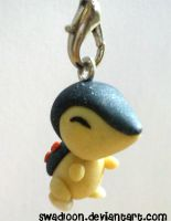 Small Cyndaquil Charm by Swadloon