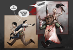 The Evil Within - CHARGE! by nirnalie