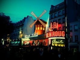 Paris, Moulin Rouge by FastDevil76